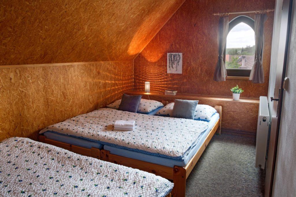Ubytování postele
